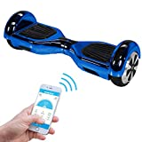 Robway W1 - Das Original - Samsung Marken Akku - Self Balance - 22 Farben - Bluetooth - App Steuerung - 2 x 350 Watt Motoren - LED - Kinder Sicherheits Modus - Elektro Scooter Board (Blau...