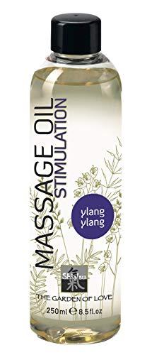 SHIATSU Erotisches Massageöl  Ylang-Ylang, Massageoil für die sinnliche Partnermassage zur Stimulation, mit erlesenen Duft. 250ml