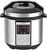 COSORI CP016-PC Electric 6 Qt 8-in-1 Instant Stainless Steel Pot Pressure Cooker, 6 Quart