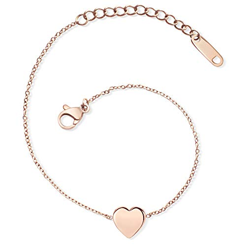 LENIRA Herz Armband (Roségold)