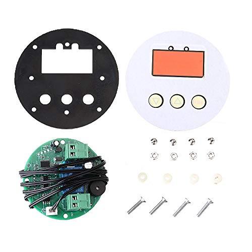 YINCHIE MUKUAI20 3 unids 12V XH-W1818 alta escuela precisión microordenador controlador de temperatura redondo pantalla digital incorporado termostato DIY