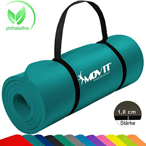 Movit Tapis de Gymnastique Mat de Yoga sans...