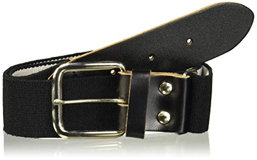 Wilson Adult Elastic Baseball Belt, Black