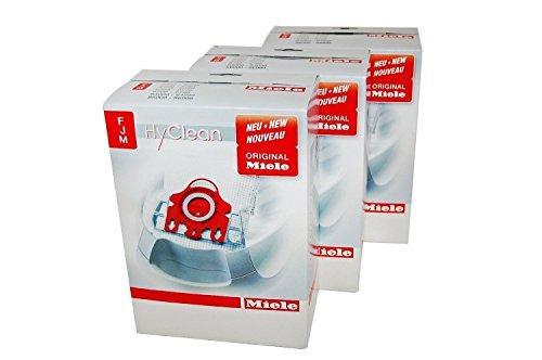 Miele FJM - Bolsas para aspiradoras Miele (3 packs completos)
