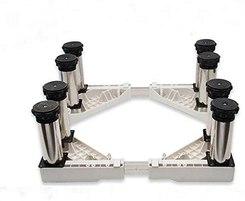 DNSJB Soporte de ocho patas ajustable para el hogar Base para aire acondicionado Base de refrigerador (tamaño H24-27cm)