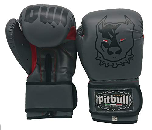Pitbull Boxing Equipment - Guantes de Boxeo GL 36, 10 onzas -...