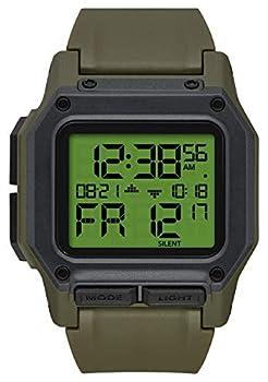 NIXON Regulus A1180 - Surplus/Carbon - 100m Water Resistant Men s Digital Sport Watch  46mm Watch Face 29mm-24mm Pu/Rubber/Silicone Band