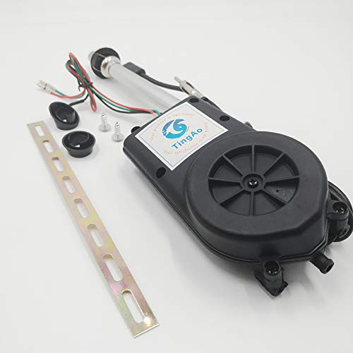 Universal 12V Car Automatic Antenna Aerial Kit Auto AM&FM Radio Electric Power Mast Aerial