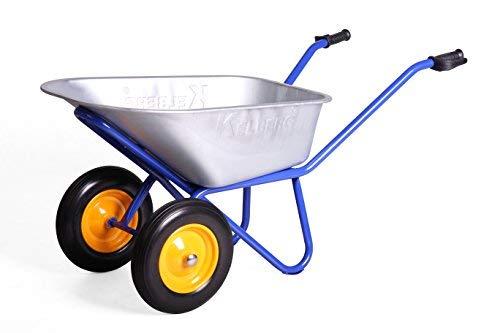 Kelberg 2-ruote Carriola con PU Ruote in gomma piena AGRO