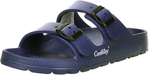 ConWay Mistral Damen Badeschuhe Latschen Sandalen Pantoletten blau, Größe:41;Farbe:Blau