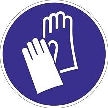 Schild handbescherming gebruiken D.200 mm Ku. blauw/wit ASR A1.3 DIN EN ISO 7010