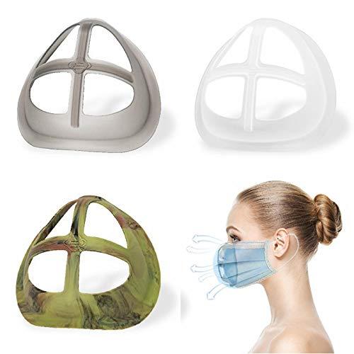 シリカゲル口カバーサポート 口紅を保護通 気性のあるブラケット 呼吸スペースを増やす 特大ブラケット 鼻パッド おしゃぶり素材 柔らかく快適い