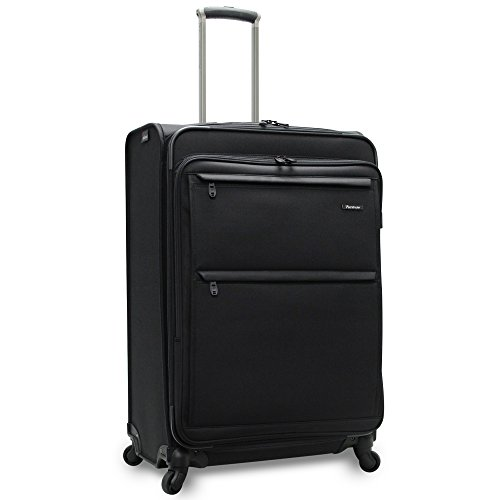 Pathfinder Revolution Plus 29 Inch Expandable Spinner with Suiter, Black, One Size