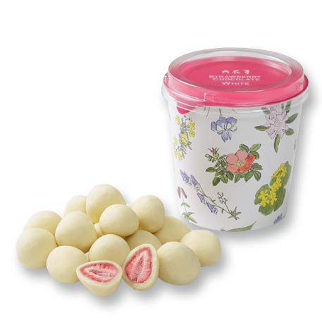 六花亭 ストロベリーチョコレート ホワイト100g