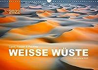 Sand, Felsen und Packeis. Weisse Wueste (Wandkalender 2022 DIN A3 quer): Geniessen sie die warmen, farbenfrohen Landschaften, die mit ihrer Ruhe und Einsamkeit zur Entspannung einladen. (Monatskalender, 14 Seiten )