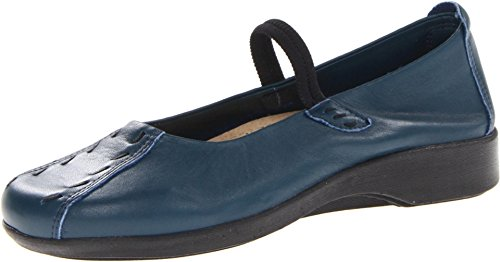 Arcopedico Women's Shawna Indigo Leather Shoe 7-7.5 M US