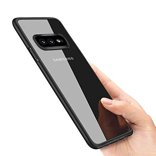Galaxy S10e Hülle , omitium Silikon Galaxy S10e Schutzhülle Ultra Dünn Anti-Fingerabdruck Anti-Scratch Anti-Shock Premium Weich Handyhülle für Samsung Galaxy S10e Case , Schwarz