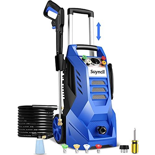 Suyncll Electric Pressure Washer 3800PSI, 2.6GPM...