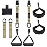 Bodytorc Suspension Trainer, Bodyweight Training Straps for Full Body Workouts at Home, Includes...