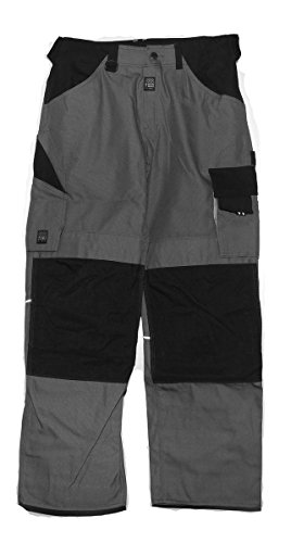 Workzone 0333-765 Zip-off-Hose Engel/Workzone Arbeitshose Gr. 48 grau