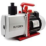 AUTOGEN 2-Stage Air Vacuum Pump 5CFM 3/4HP 0.3 Pa for HVAC/AUTO AC Refrigerant Recharging, Degassing Wine, Milking Cow, Food Processing