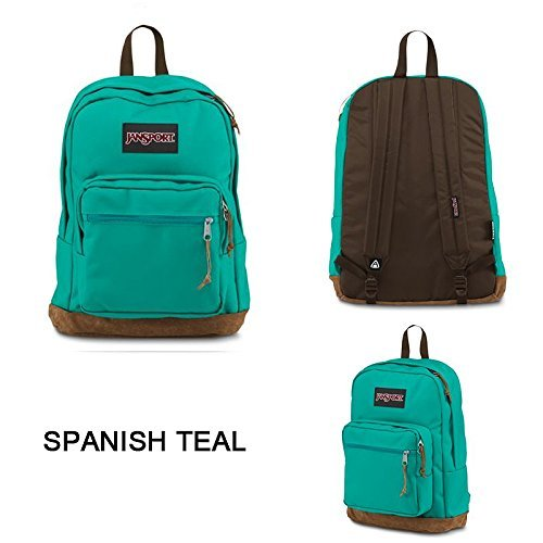 JanSport - Right Pack Tote Bag - Spanish Teal-01H -