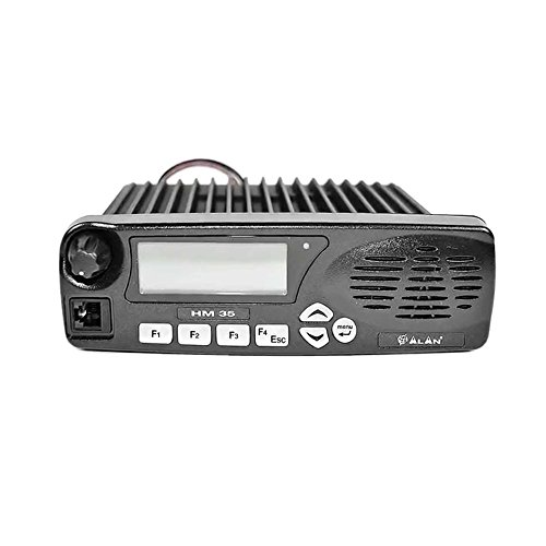 Radio TAXI CB Vhf Midland Alan HM135 sans Microphone, 5 Tonalités pour TAXI, 135-174 MHz Code G934