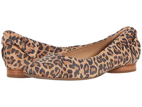 Bernardo Eloise Sand Cheetah Print Suede 6 M