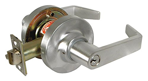 Affordable Marks USA - 195AB/10B-F9 - Lever Lockset, Mechanical, Entrance, Grd. 1