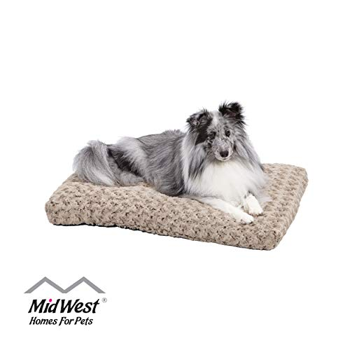 Plush Dog Bed | Ombré Swirl Dog Bed & Cat Bed |...
