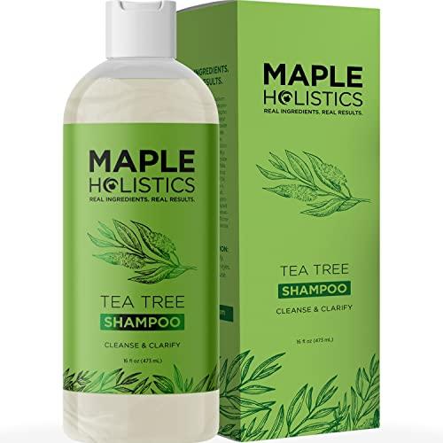 Maple Holistics Arbre pur thé Shampooing Huile Pour...