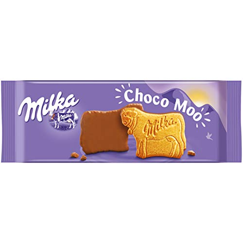 Milka Choco Moo - Keks mit zarter Alpenvollmilch Schokolade - 8 x 200g