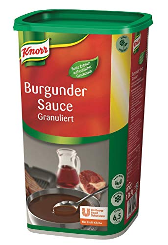 Knorr Burgundersauce - granulierte Rotweinsauce, 1,26 kg