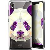 Ultra-Slim Polygon Animal Panda Case for 5.93 Inch Wiko