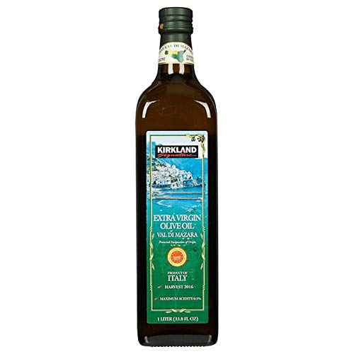 Kirkland Signature Organic Extra Virgin Olive Oil Val Di Mazara, 1 L Made in Italy