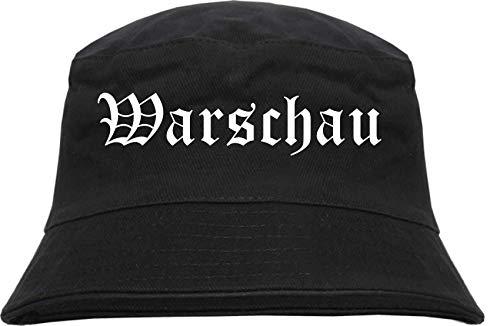 sostex Warszau kapelusz wędkarski - staroniemiecki - z nadrukiem - Bucket Hat kapelusz wędkarski kapelusz