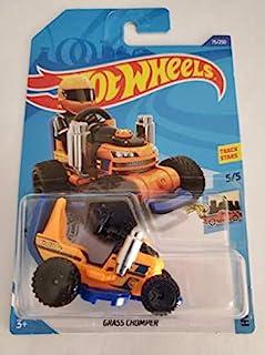Hot Wheels 2020 Treasure Hunt Hw Ride-Ons Grass Chomper, Orange 75/250