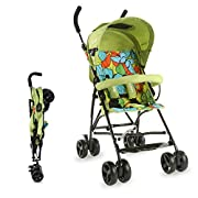 Easy folding and storage / Buggy - Ideal for travelling with Kids & Toddlers 5 point safety harness for child safety I Carrying Capacity up to 15 kgs 360° Front Wheel Swivel & Rear wheel breaks Double layered canopy with lock & unlock facility. Mater...