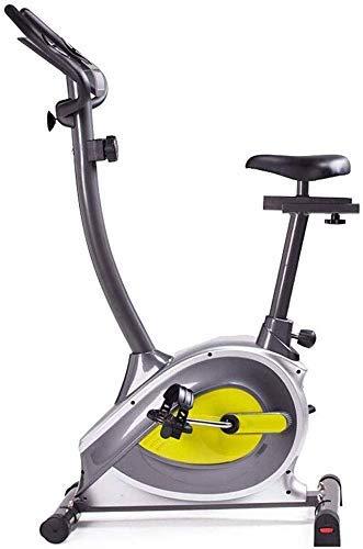 GJJSZ Bicicleta motorizada de Pedal,Bicicleta de Spinning Resistencia Ajustable para Bicicleta de Ejercicios en casa con Pantalla LCD para Mujeres y Hombres Ciclismo de Interior