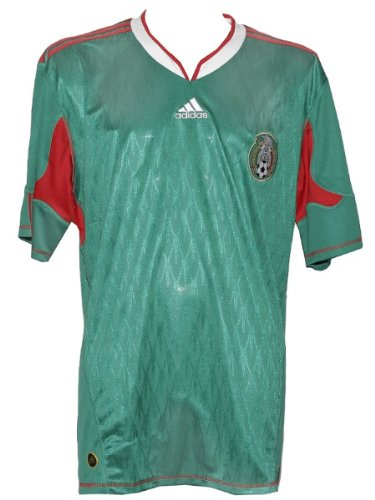 adidas Mexiko Trikot Home 10/11, Unisex Kinder, 128