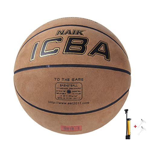 Find Discount YE ZI Basketballs- Standard Basketball Indoor and Outdoor No. 7 Basketball Size 9.8 in...