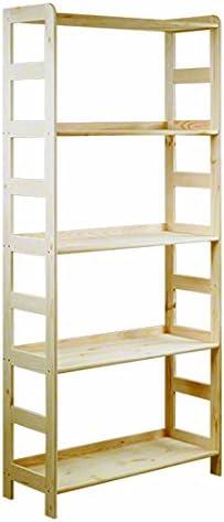 Estantería de madera de pino macizo, estantería para libros, oficina, modular R-* 8 variantes (R-04, 89 x 56 x 56 cm)