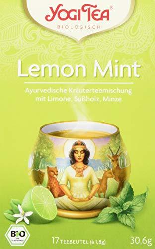 Yogi Tea Lemon Mint Bio, 3er Pack (3 x 31 g)