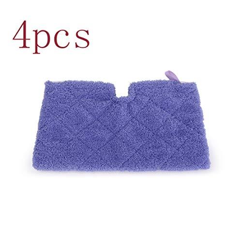 Simuke Microvezel Cover Pocket Pads voor Shark S2901 S3455 S3501 S3502 S3601 S3701 S3901 Stoomreiniger Mop (Pack van 4)
