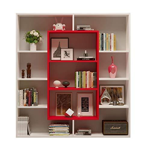 libreria rossa ikea