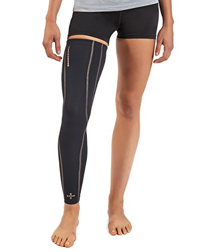 Tommie Copper Women's Performance Full Leg Sleeves 2.0, Medium, Black