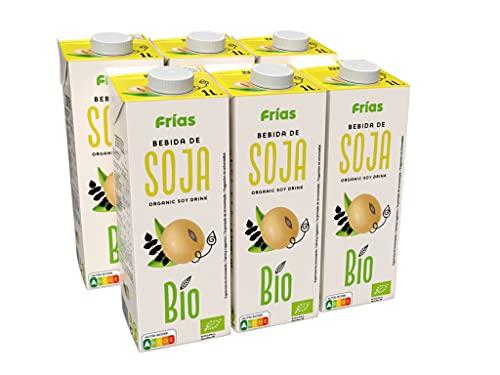 Frías - Bebida Bio de Soja natural caja con 6 litros