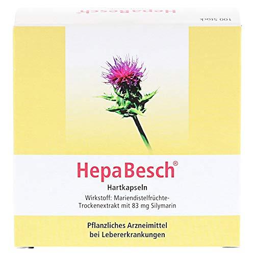 HepaBesch Hartkapseln bei Lebererkrankungen, 100 St. Kapseln