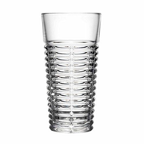 La Rochère Tempo Highball Lunettes 388,4 gram/390 ml - Lot de 6 - Verres à long drink