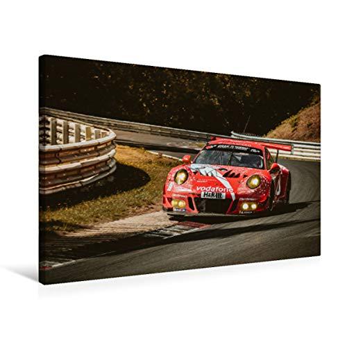 Premium Textil-Leinwand 75 x 50 cm Quer-Format Faszination Motorsport 2019   Wandbild, HD-Bild auf Keilrahmen, Fertigbild auf hochwertigem Vlies, Leinwanddruck von Patrick Liepertz/PL-FOTO.de